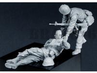 USMC(8) Fallen Comrade Tet`68 (Vista 5)