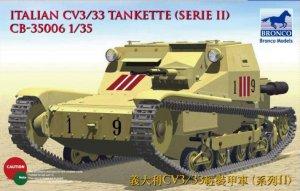 Tanqueta Italiana CV L3/33  (Vista 1)