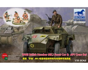 British Humber MK.I Scout Car & AFV Crew  (Vista 1)