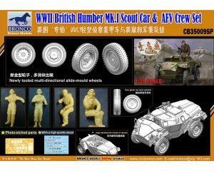 British Humber MK.I Scout Car & AFV Crew  (Vista 2)