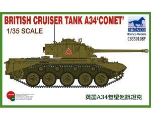 British Cruiser Tank A34 Comet  (Vista 1)