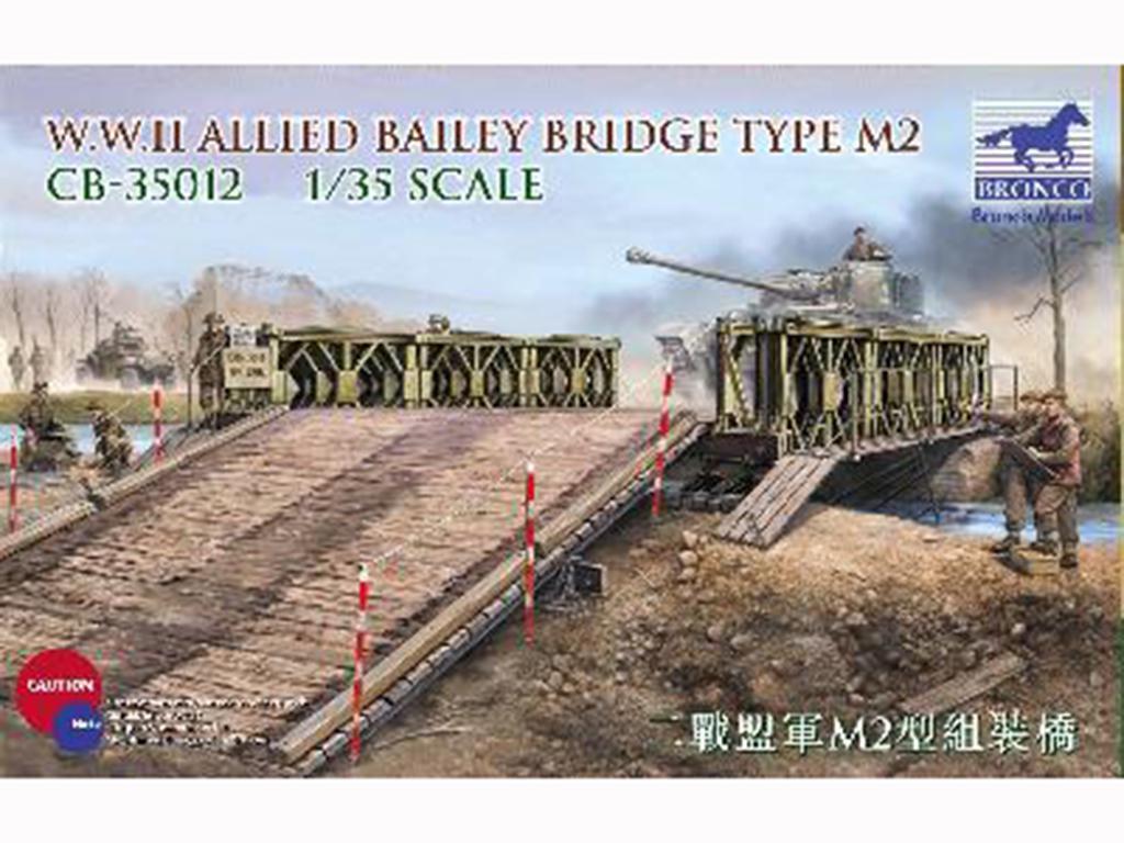Puente Bailey tipo M2 2ªG.M.  (Vista 1)