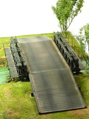 Puente Bailey tipo M2 2ªG.M.  (Vista 2)