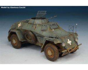 German Leichte Panzerspahwagen Sd.Kfz.22  (Vista 2)