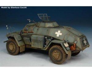 German Leichte Panzerspahwagen Sd.Kfz.22  (Vista 3)