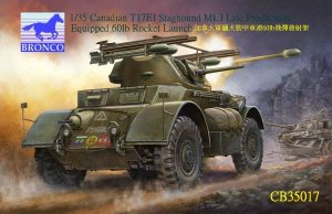 Canadian T17E1 Staghound Mk1. Late with  (Vista 1)