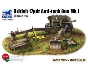 Cañón ingles anti-tanques 17pdr Mk.I  (Vista 1)