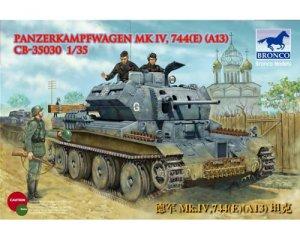 Panzer Kampfwagen Mk IV, 744(e) (A13) - Ref.: BRON-CB35030