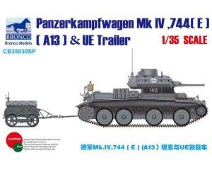 Panzerkampfwagen Mk.IV, 744[E] (A13) & U  (Vista 1)
