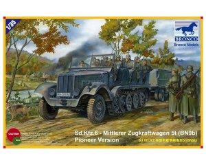 SdKfz 6 - Mittlerer Zugkraftwagen 5t   (Vista 1)