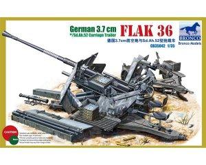 German 3.7cm Flak36  (Vista 1)