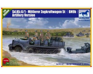 Sd.kfz 6 5(t) Typ BN9 Artillery Version  (Vista 1)