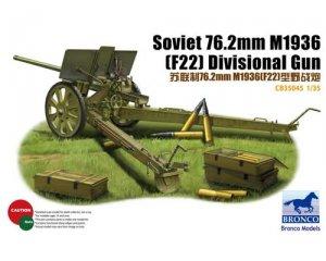 Cañón soviético 76.2mm M1936 (F22)  (Vista 1)