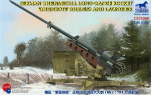 German Rheinmetall Long-Range Rocket Rhe  (Vista 1)