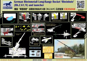 German Rheinmetall Long-Range Rocket Rhe  (Vista 5)