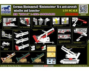 German Rheinmetall Rheintochter R-2  (Vista 4)