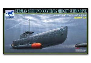 German Seehund XXVIIB/B5 Midge Submarine  (Vista 1)