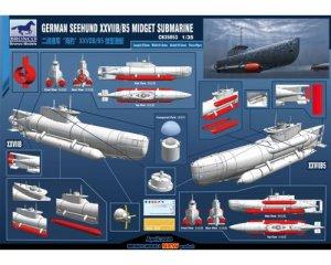 German Seehund XXVIIB/B5 Midge Submarine  (Vista 2)