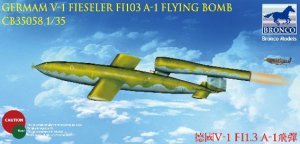 Bomba Volante Fieseler FI103 V-1  (Vista 1)