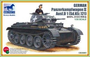 German Panzerkampwagen II Ausf D  SdkFz   (Vista 1)
