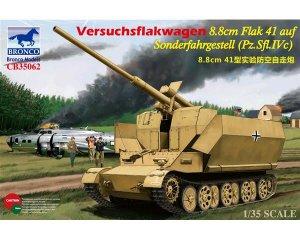 Versuchsflakwagen 8.8cm Flak 41   (Vista 1)