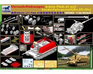 Versuchsflakwagen 8.8cm Flak 41   (Vista 2)