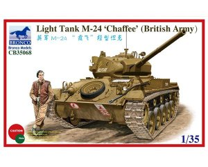 Light Tank M-24 Chaffee  (Vista 1)