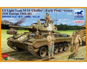 US Light Tank M-24 'Chaffee' - Ref.: BRON-CB35069