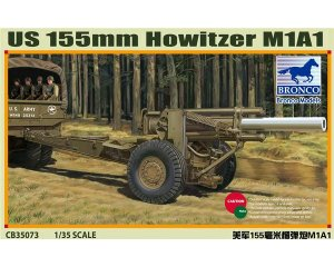 US M1A1 155mm Howitzer - Ref.: BRON-CB35073