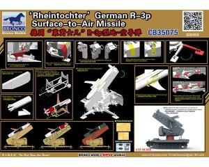 Rheintochter German R-3p Surface-to-Air   (Vista 4)