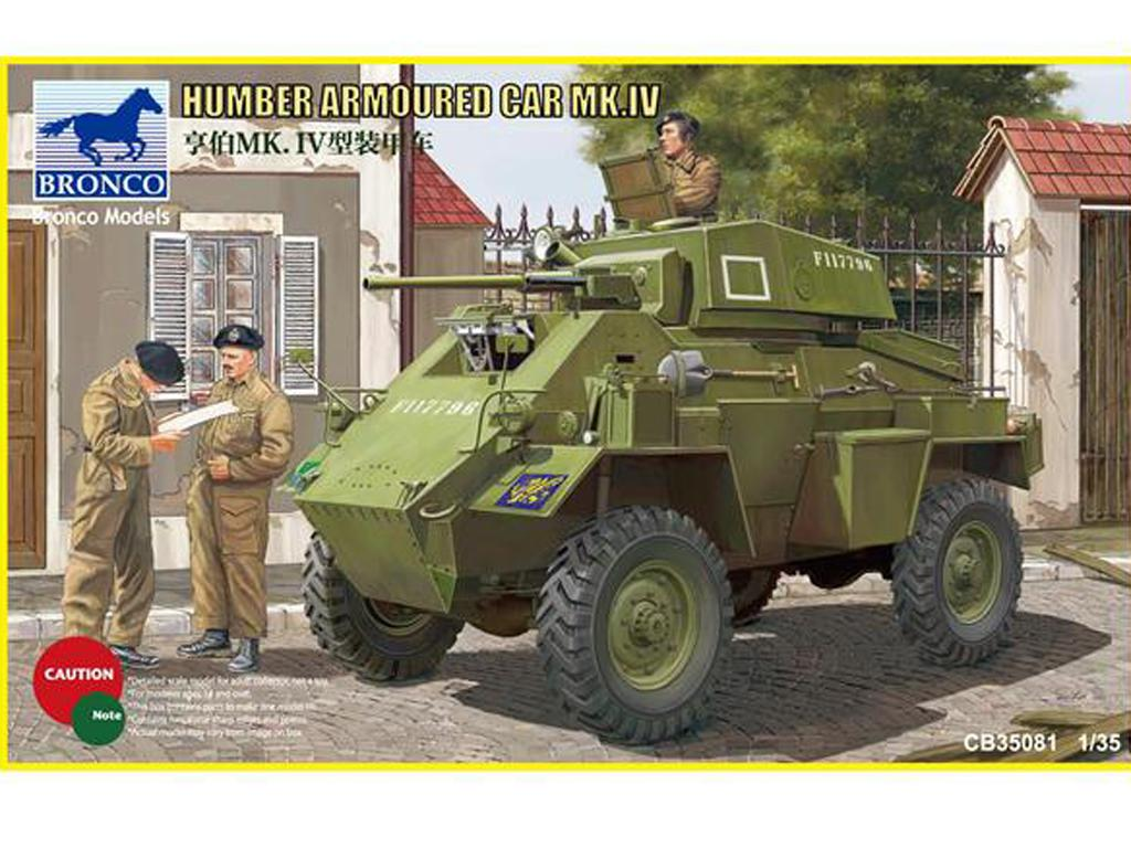 Humber Armored Car Mk. IV - Ref.: BRON-CB35081