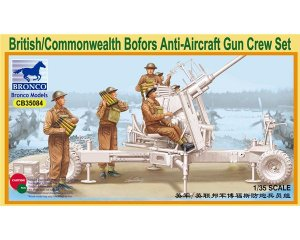 British/Commonwealth Bofors Gun crew set  (Vista 1)