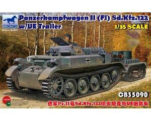 PzKpfw. II(F) Sd.Kfz.122 w/UE Trailer  (Vista 1)
