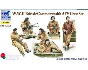British/Commonwealth AFV Crew set  (Vista 1)