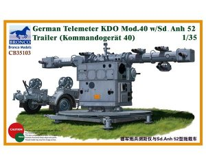 German Telemeter KDO Mod.40 w/Sd.Anh 52   (Vista 1)