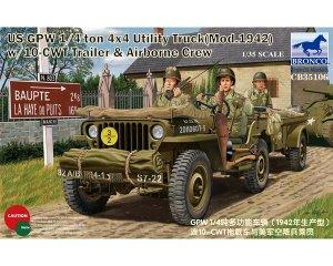 Jeep Willys con dotación   (Vista 1)