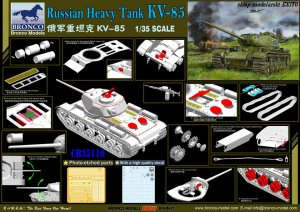 Russian Heavy Tank KV-85  (Vista 6)