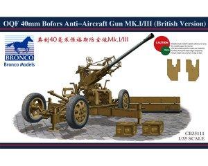 OQF 40mm Bofors Anti-aircraft Gun   (Vista 1)
