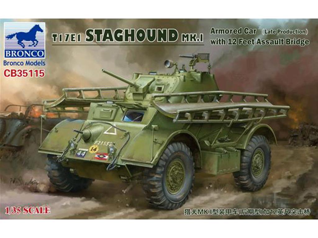 T17E1 Staghound MK.I Armored Car Late Pr  (Vista 1)