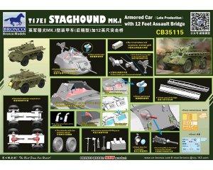 T17E1 Staghound MK.I Armored Car Late Pr  (Vista 4)