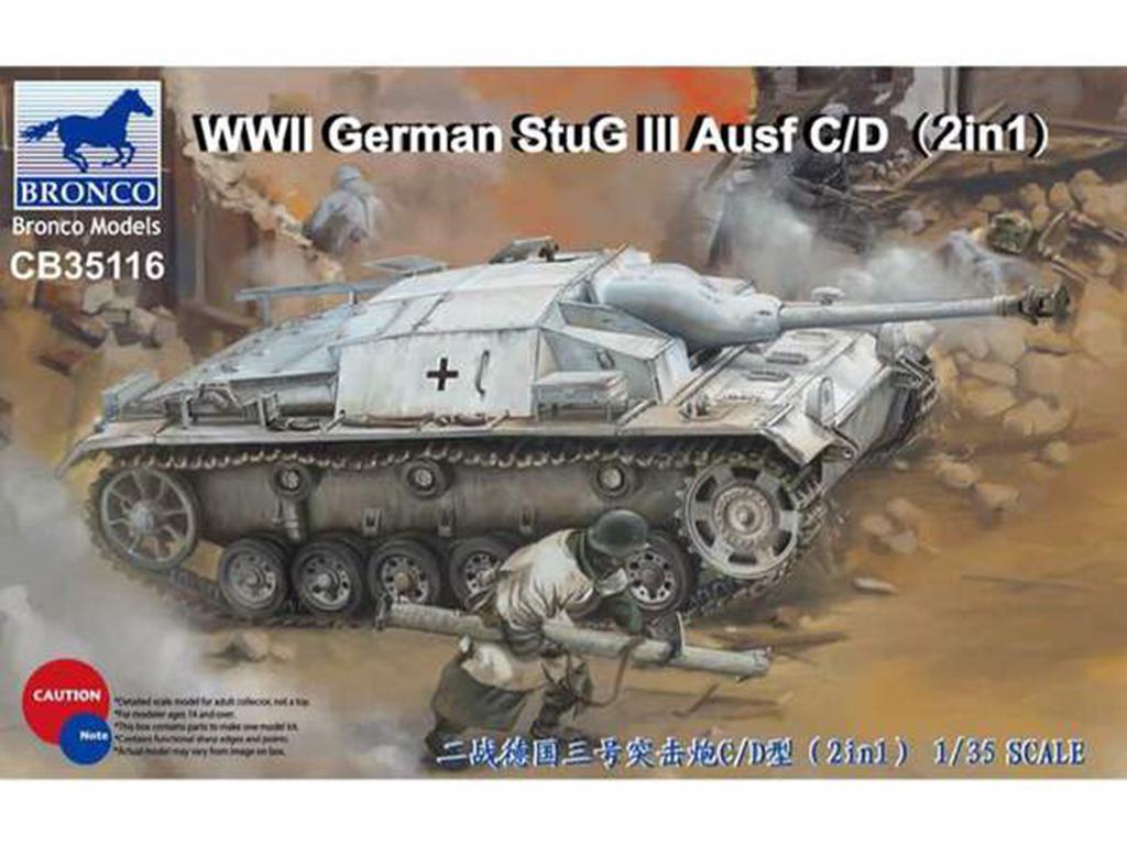 StuG III Ausf C/D with 75mm  (Vista 1)