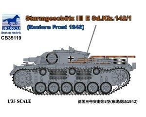 Sturmgeschütz III E Sd.Kfz. 142/1 - Ref.: BRON-CB35119