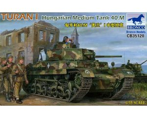 Turan I Hungarian Medium Tank 40.M  (Vista 1)