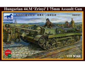 Hungarian 75mm Assault Gun 44.M Zrinyi I  (Vista 1)