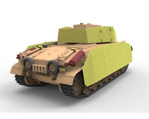 Hungarian Medium Tank 41.M Turan II  (Vista 3)