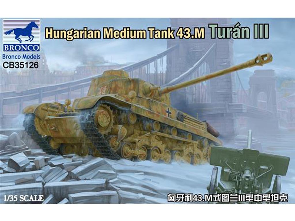 Hungarian Medium Tank 43.M Turán III  (Vista 1)