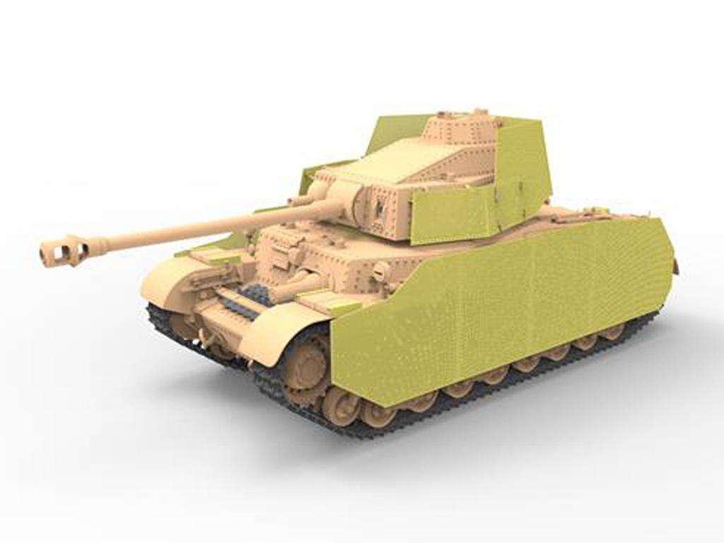 Hungarian Medium Tank 43.M Turán III  (Vista 2)