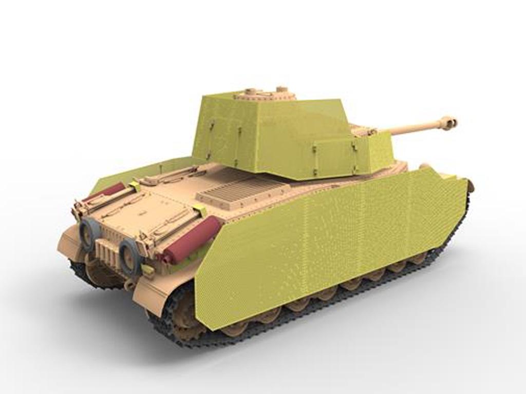 Hungarian Medium Tank 43.M Turán III  (Vista 3)