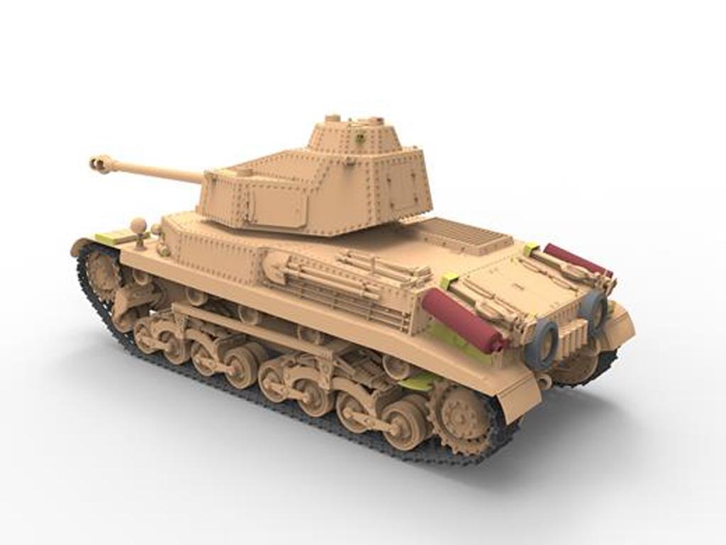 Hungarian Medium Tank 43.M Turán III  (Vista 5)