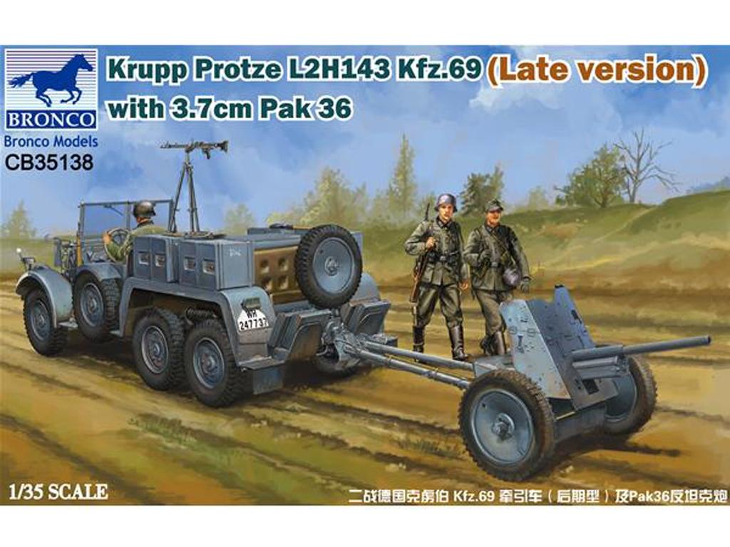Krupp Protze L2H143 Kfz.69 (Late version - Ref.: BRON-CB35138